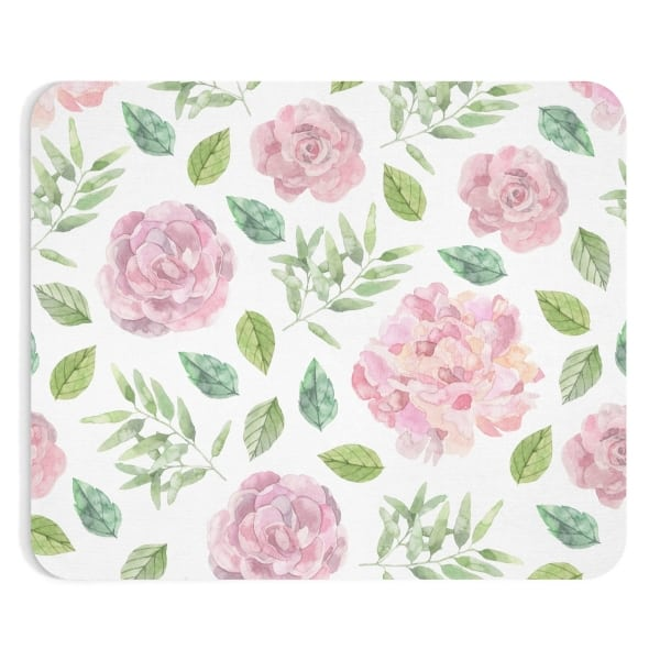 Floral watercolor designed mousepad for bloggers. In need of a new mousepad to brighten up your workspace and add some personality to your home desk? Check out our custom made Mouse Pad designs and get yours today!