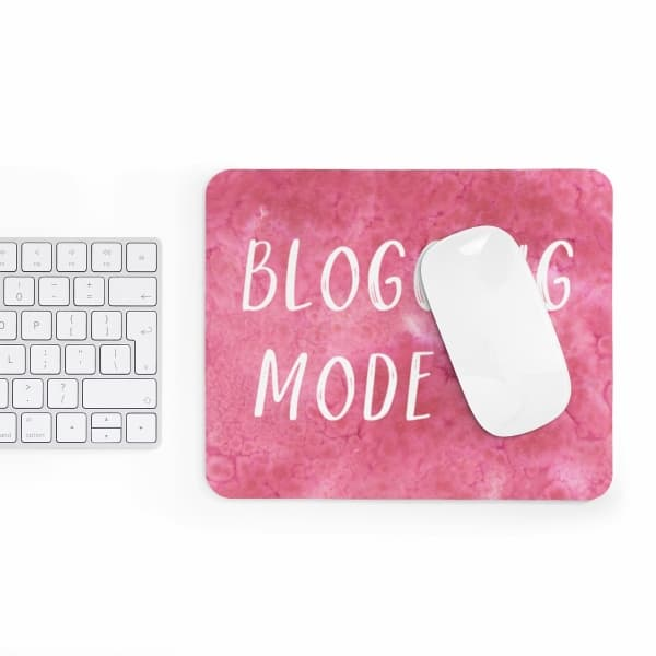 Watercolor design mousepad for bloggers. In need of a new mousepad to brighten up your workspace and add some personality to your home desk? Check out our custom made Mouse Pad designs and get yours today!