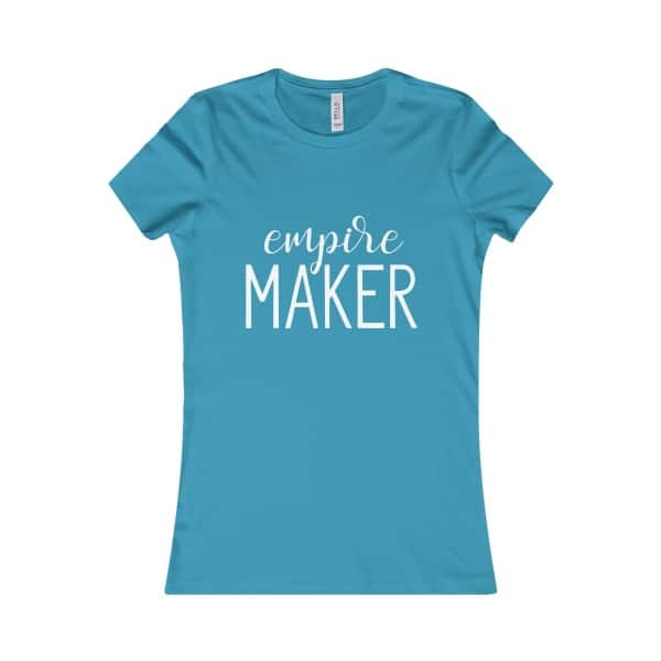"Are you an entrepreneur on a mission? Show it off with this ""Empire Maker"" tee. Gift for entreprenuers, gift guide for business owners and online creatives."