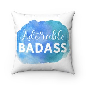 Looking to add some personality to your living room, home office or bedroom? This custom design Polyester Square Pillow is the perfect accessories for bloggers, online creatives, and entrepreneurs. Get yours now!