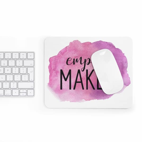 In need of a new mousepad to brighten up your workspace and add some personality to your home desk? Check out our custom made Mouse Pad designs and get yours today! Empire maker laptop accessory for business owners.