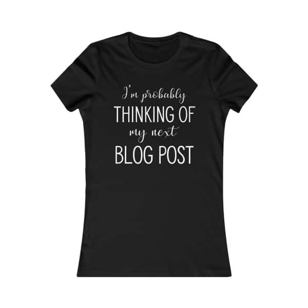 Tshirt for bloggers. Funny tee print for bloggers. Proud to be a part of the blogging community? Show it off with this custom-made T-shirt for bloggers, available in multiple styles and sizes. Grab yours today!